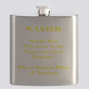 AVIATION HUMOR (DARK) Flask