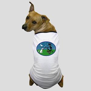 whitecolorlifelikebackoftee275 Dog T-Shirt