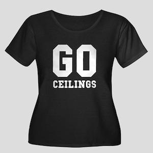 Go Ceilings Fan Joke Plus Size T-Shirt