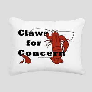 clawsforconcern2 Rectangular Canvas Pillow