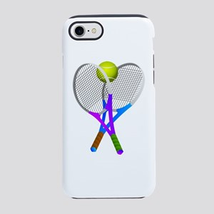 Tennis Rackets and Ball iPhone 7 Tough Case
