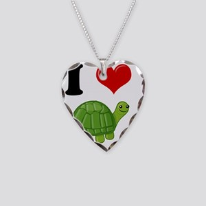 turtle2 Necklace Heart Charm