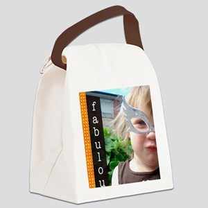 beyourself Canvas Lunch Bag
