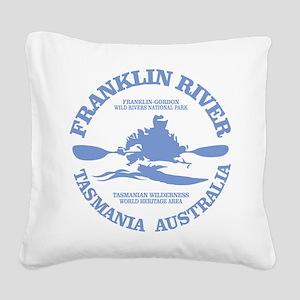 Franklin River Square Canvas Pillow