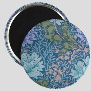 Blue Chrysanthemums by Morris Magnet