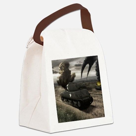 Field_battle-6 Canvas Lunch Bag