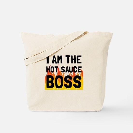 Hot Sauce Boss Tote Bag