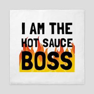 Hot Sauce Boss Queen Duvet