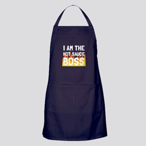 Hot Sauce Boss Apron (dark)