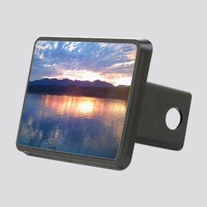 peaklightsunset Rectangular Hitch Cover