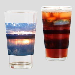 peaklightsunset Drinking Glass