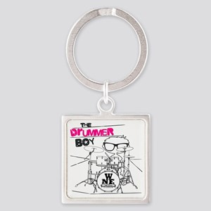 THE DRUMMER BOY T-SHIRT Square Keychain