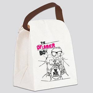 THE DRUMMER BOY T-SHIRT Canvas Lunch Bag