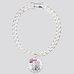 THE DRUMMER BOY T-SHIRT Charm Bracelet, One Charm