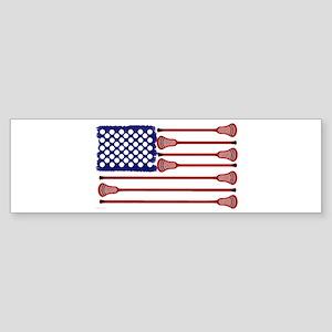 Lacrosse Americas Game Bumper Sticker
