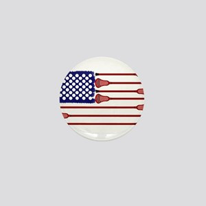 Lacrosse Americas Game Mini Button