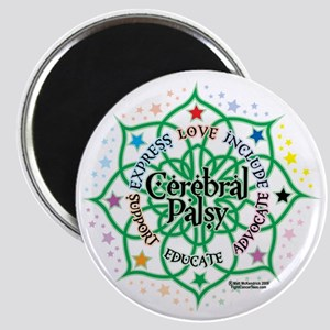 Cerebral-Palsy-Lotus Magnet