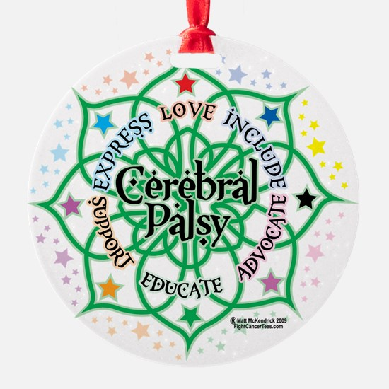 Cerebral-Palsy-Lotus Ornament