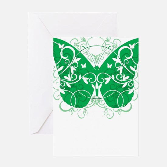Cerebral-Palsy-Butterfly-blk Greeting Card