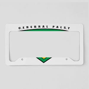 Cerebral-Palsy-Hero License Plate Holder