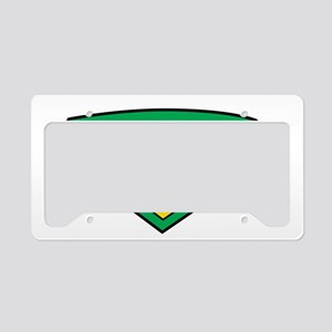 Cerebral-Palsy-Hero-blk License Plate Holder