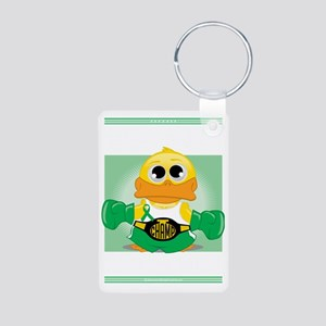 Knock-Out-Cerebral-Palsy-b Aluminum Photo Keychain