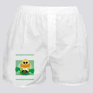 Knock-Out-Cerebral-Palsy-blk Boxer Shorts