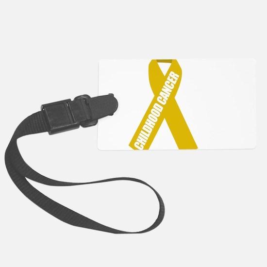 Childhood-Cancer-Hope-blk Luggage Tag