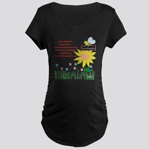 You Are My Sunshine Grandau Maternity Dark T-Shirt