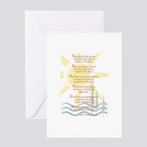 Apache Wedding Blessing Greeting Cards (package Of