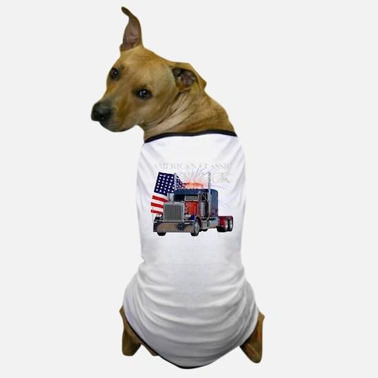 2-Am_Dark_Peterbilt_CP Dog T-Shirt