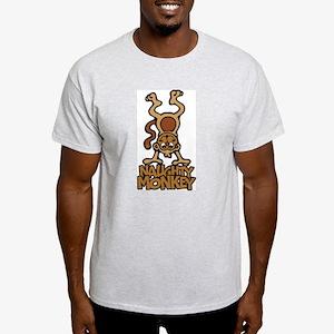 Naughty Monkey Ash Grey T-Shirt