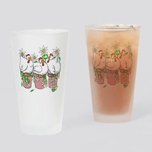 A Chicken In Every Pot Drinking Glass