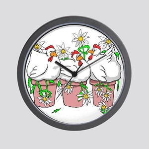 A Chicken In Every Pot Wall Clock