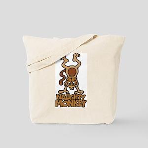 Naughty Monkey Tote Bag