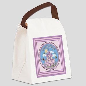 KSB Princess Castle Canvas Lunch Bag