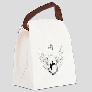 gwada krown#2 white copy Canvas Lunch Bag