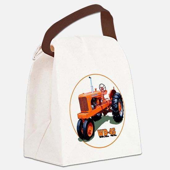 AC-WD45-C3trans Canvas Lunch Bag