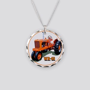 AC-WD45-C3trans Necklace Circle Charm