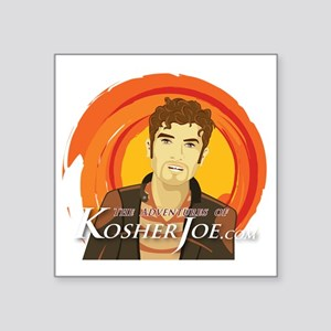 "Kosher-Joe-t-shirt Square Sticker 3"" x 3"""