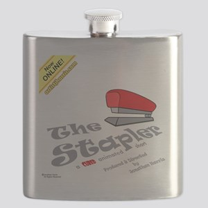 Cubed The Stapler Tshirt Flask
