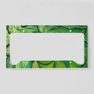 Greenwoman1 License Plate Holder