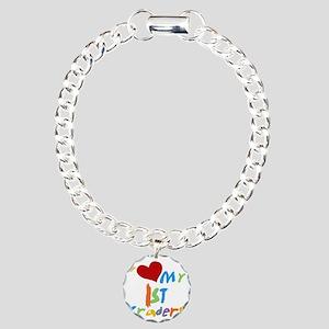 HEART1STGRADERS Charm Bracelet, One Charm