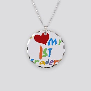 HEART1STGRADERS Necklace Circle Charm
