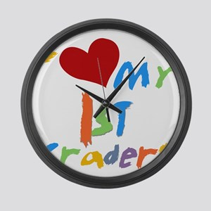 HEART1STGRADERS Large Wall Clock