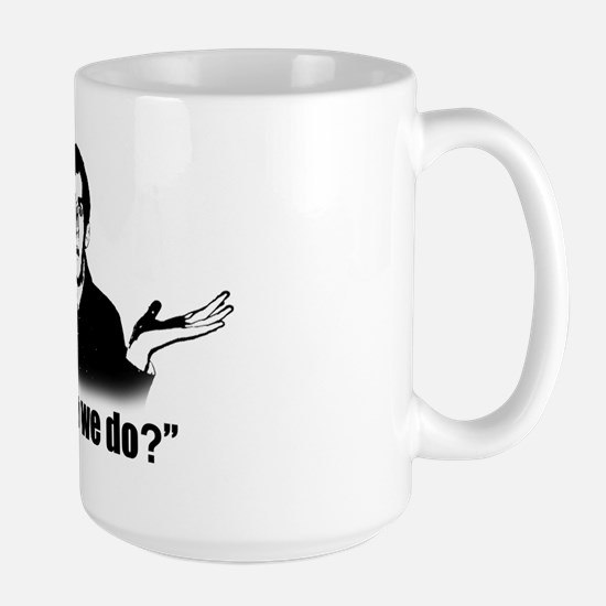 2-Harker T-Shirt Back Large Mug