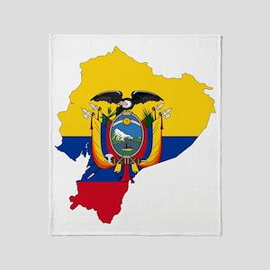 2-Ecuador1 Throw Blanket