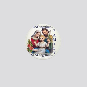 pray_together_12x12-clear Mini Button