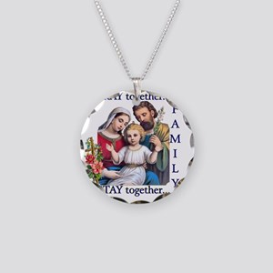 pray_together_12x12-clear Necklace Circle Charm