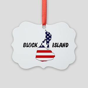Block Island Picture Ornament